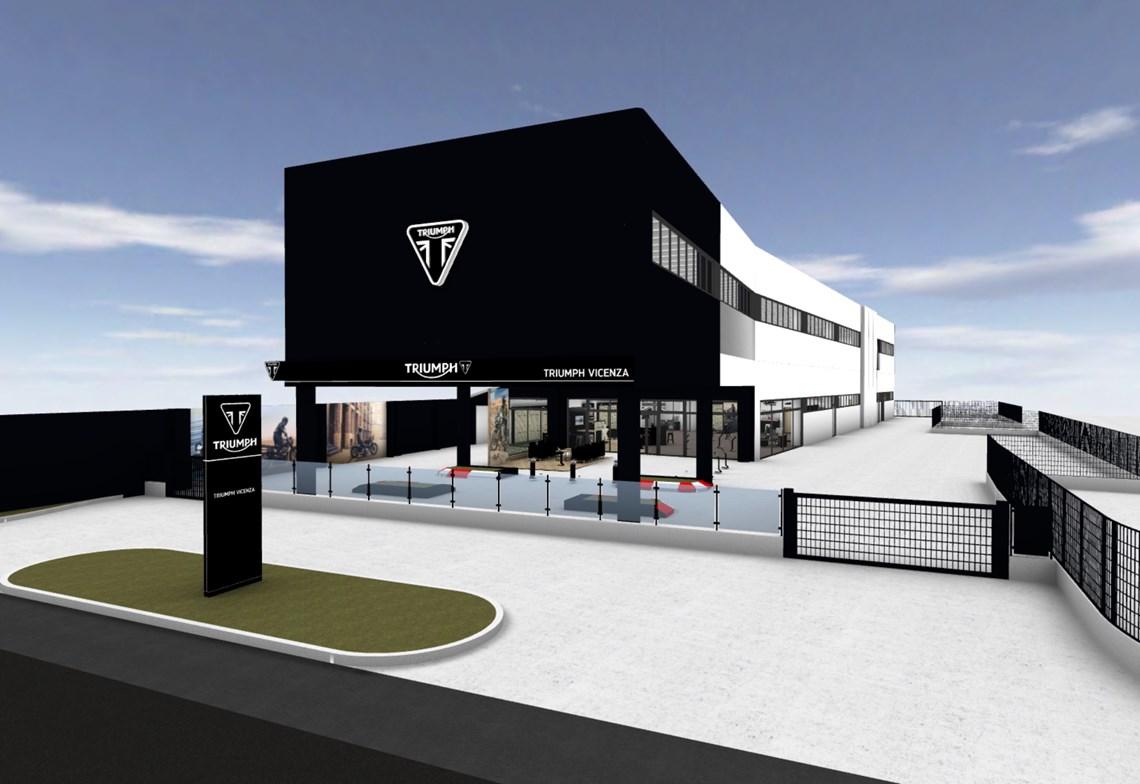 Nuova apertura Triumph Vicenza