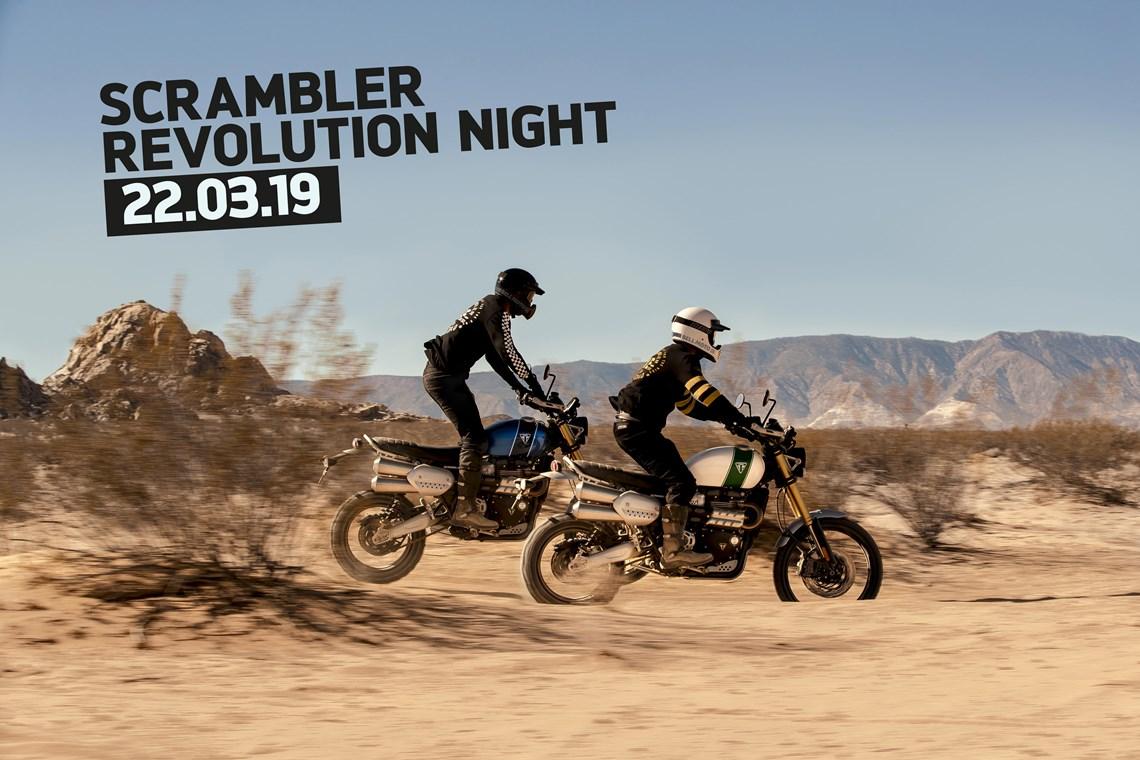 SCRAMBLER REVOLUTION NIGHT 22.03.19