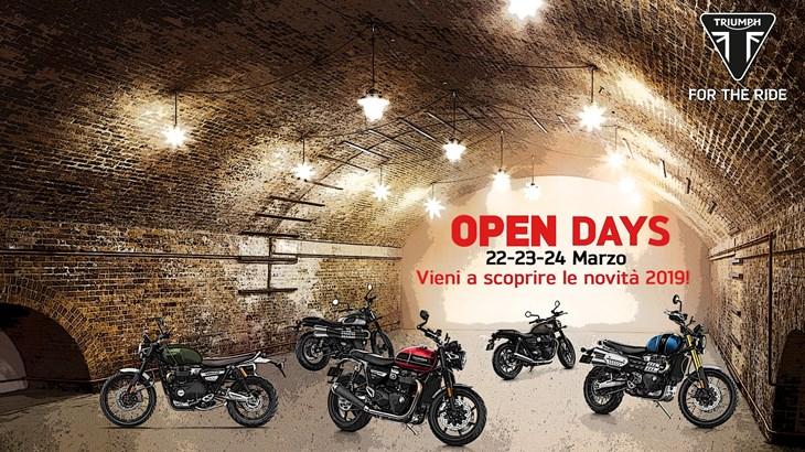 Open Days 22-24 Marzo 2019