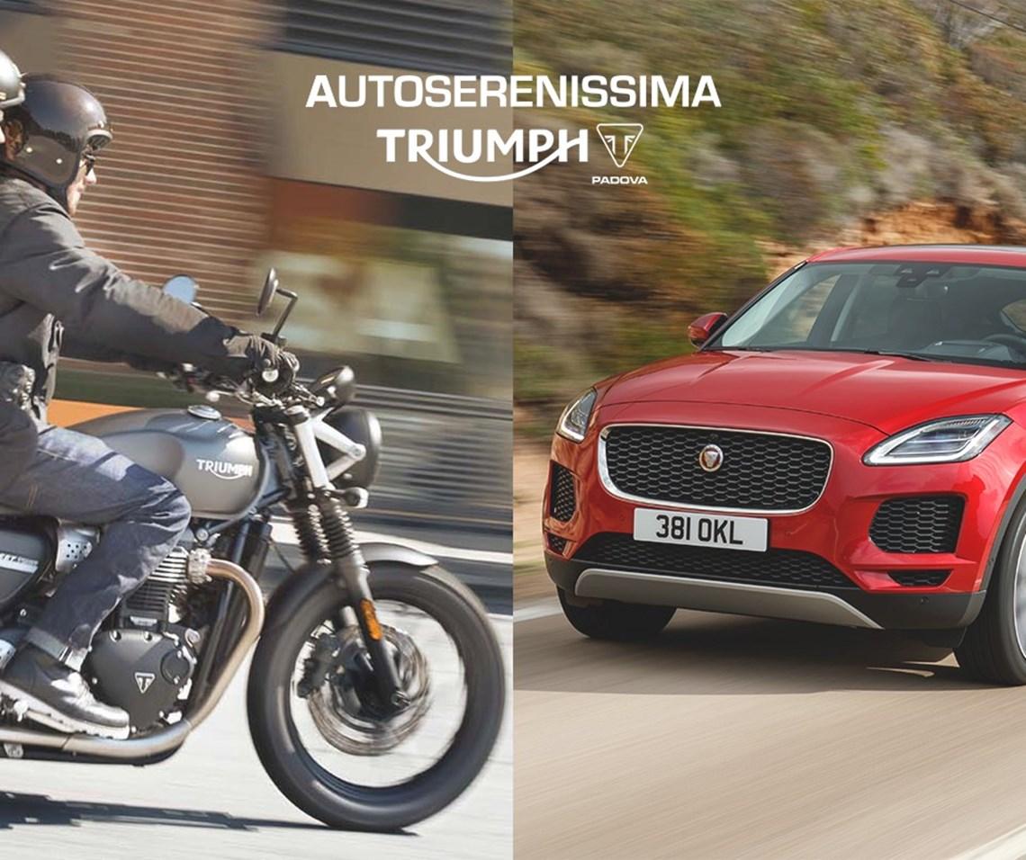 Serata Autoserenissima Jaguar & Triumph Padova