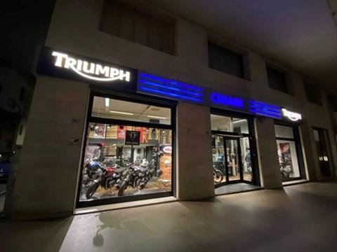 Triumph Motorcycle Bologna