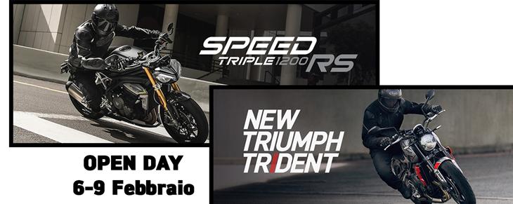 OPEN DAY | TRIDENT 660 e SPEED TRIPLE 1200