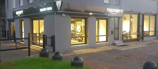 Triumph Pavia